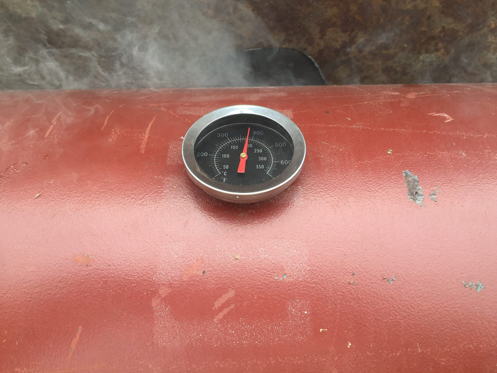 Smoker thermo
