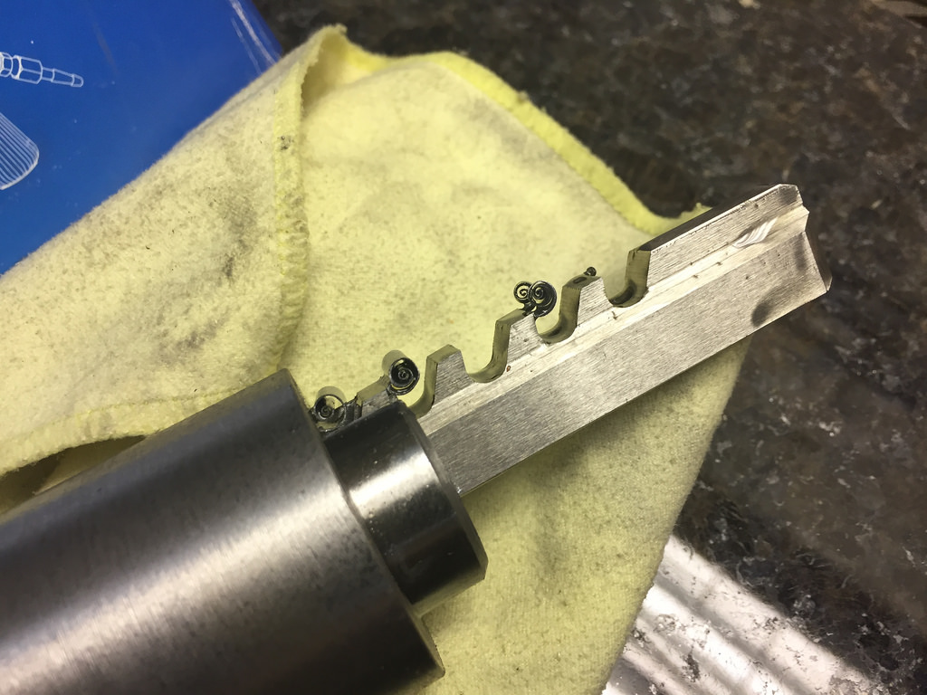 Прошивка шпоночного паза