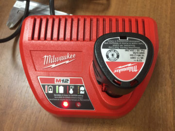 Milwauke M12 charger and battery